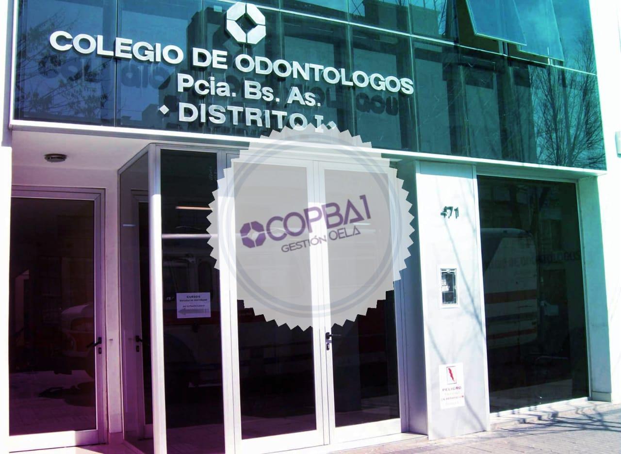 COPBA1 institucionaliza el espacio 'Colegio Abierto'