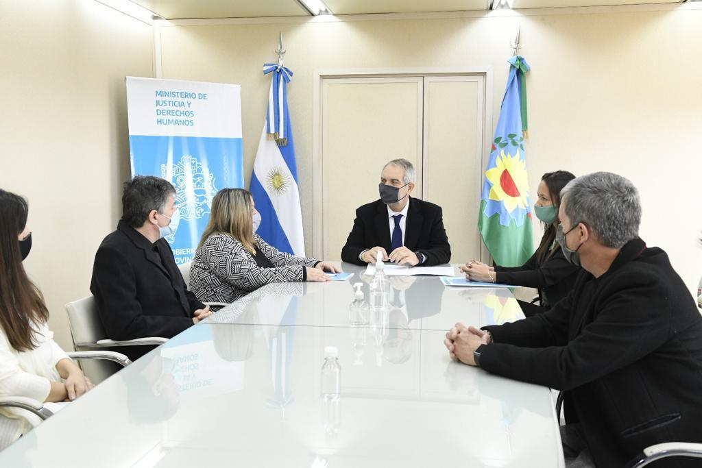 Políticas de Transparencia Activa: COPBA1 firmó un convenio con el ministerio de Justicia y DD.HH.